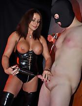 Submissive gimp