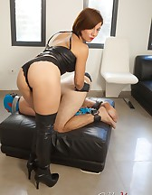 Fucking with a Strap-On