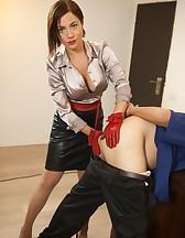 Slave Take a Strap-On