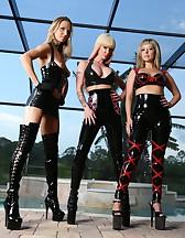 3 Goddess in latex