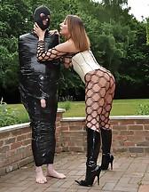 Cling Filmed Sex Slave