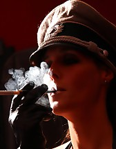 Double Domme Smoking, pic #6