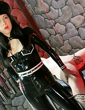Asian Mistress Chastity tease, pic #11