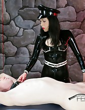 Asian Mistress Chastity tease, pic #8