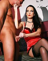 Teased and denied nylon lover, pic #10