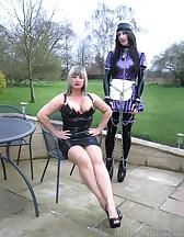 Maid trained, maid milked, pic #8