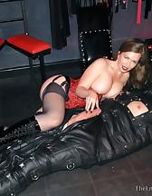 Leather Sack Cum Toy, pic #11