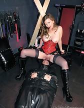 Leather Sack Cum Toy, pic #2