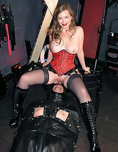 Leather Sack Cum Toy, pic #3