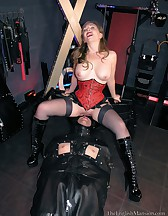 Leather Sack Cum Toy, pic #4