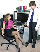 Demanding Lady Boss, pic #1