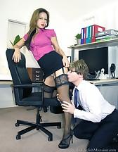 Demanding Lady Boss, pic #5