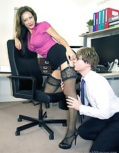 Demanding Lady Boss, pic #6