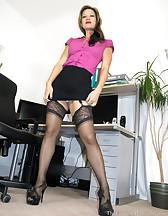 Demanding Lady Boss, pic #10