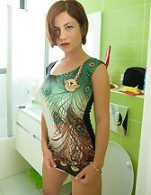 Ella in the Bathroom, pic #3