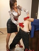 Slave Take a Strap-On, pic #12