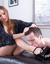 Locking away cuckold