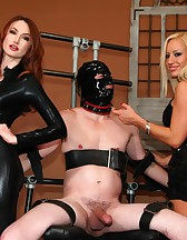 Zoey and Kendra Milking, pic #9