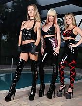 3 Goddess in latex, pic #2