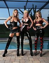 3 Goddess in latex, pic #6