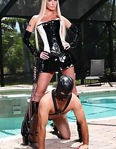 Slave on a leash, pic #11