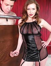 Mistress T milking, pic #8