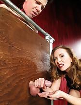 Mistress T milking, pic #10