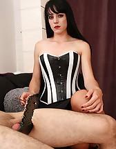 Mistress O slave sitting, p2, pic #7