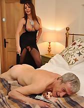 Bedroom femdom pleasures, pic #8