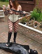 Cling Filmed Sex Slave, pic #11