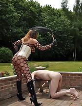 Cling Filmed Sex Slave, pic #3