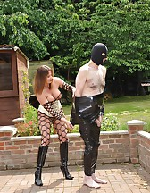 Cling Filmed Sex Slave, pic #6